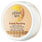 Vyživujúci krém na ruky, nohy a lakte s bambuckým maslom Planet Spa (Hand, Elbow and Foot Cream Blissfully Nourishing with African Shea Butter) 75 ml